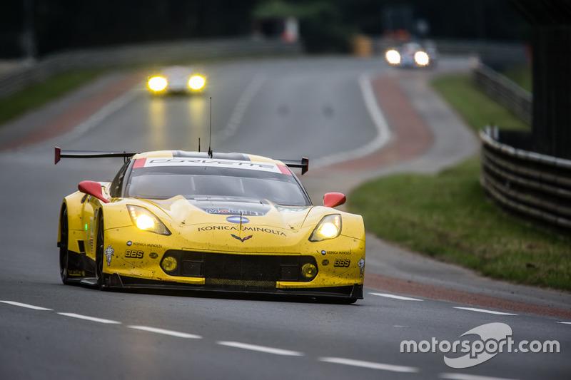 60: #63 Corvette Racing Chevrolet Corvette C7-R: Jan Magnussen, Antonio Garcia, RickyTaylor
