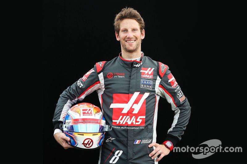 Romain Grosjean, Haas F1 (martes)