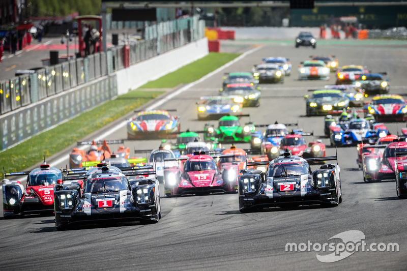 WEC-Start in Spa-Francorchamps