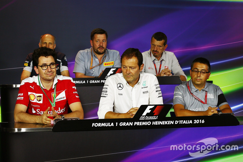 The FIA Press Conference (from back row (L to R)): Franz Tost, Scuderia Toro Rosso Team Principal; P