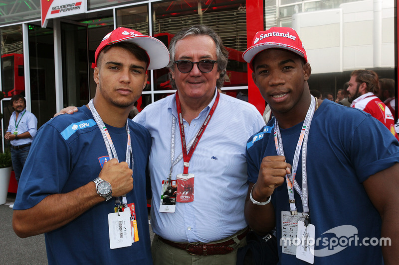 Fabio Basile, Judo Şampiyonu, Rio 2016 ve Giancarlo Minardi, ve Frank Chamizo Marquez, Güreş bronz madalya Rio 2016