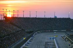 Sonnenuntergang am Darlington Raceway