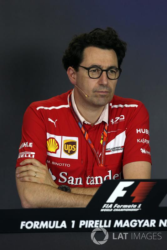 Технічний директор Ferrari Маттіа Бінотто