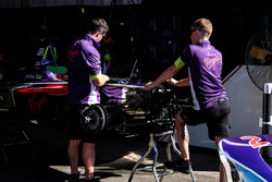 La monoposto di Sam Bird, DS Virgin Racing