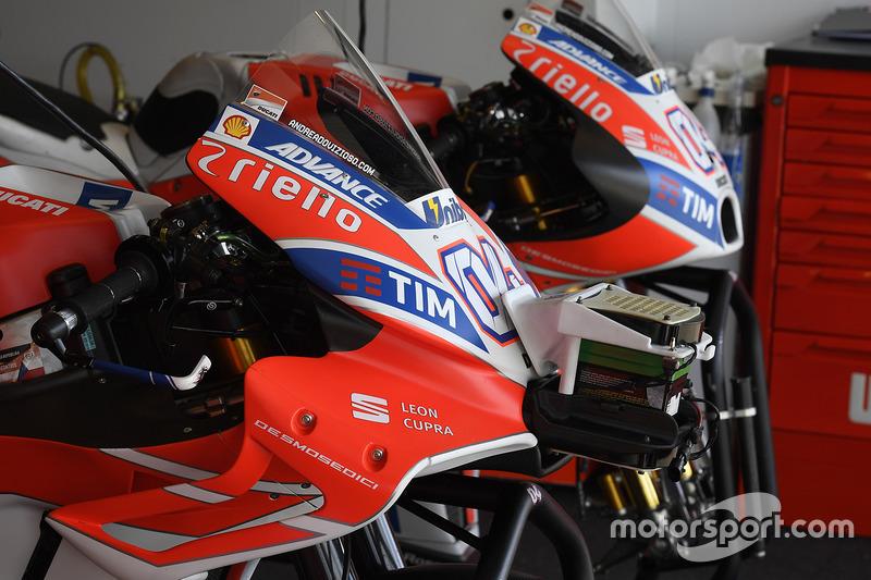 Ducati GP17: Vergleich alt vs. neu