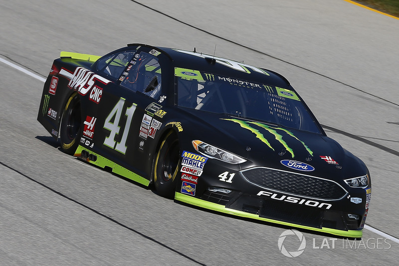 Kurt Busch Stewart Haas Racing Ford At Chicagoland