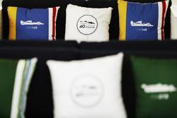 Cushions celebrating 40 years of Williams