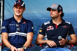 Marcus Ericsson, Sauber con Carlos Sainz Jr., Scuderia Toro Rosso