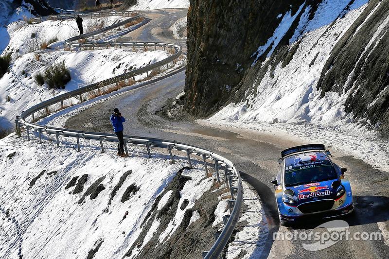 2017 - Cinquième victoire d'Ogier : M-Sport Ford Fiesta WRC