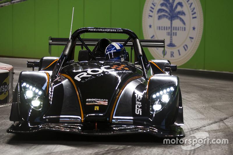 David Coulthard maneja el Radical SR3 RSX