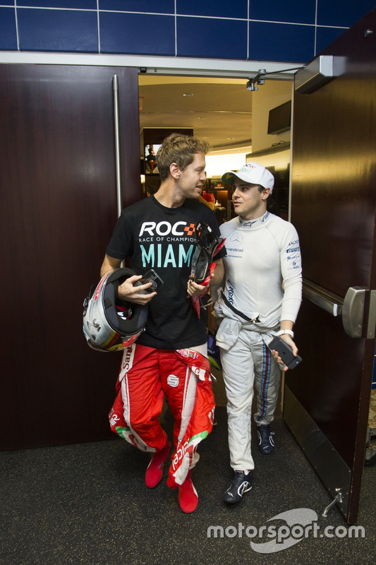 Sebastian Vettel y Felipe Massa