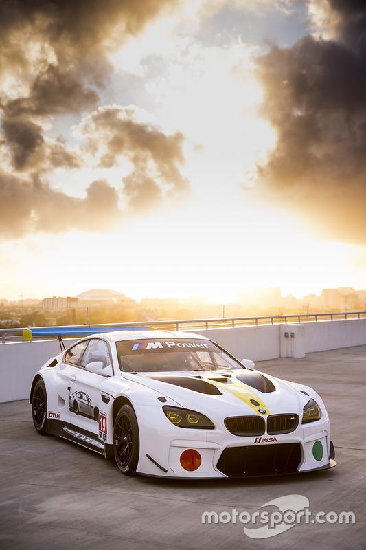 BMW M6 GTLM Art Car de John Baldessari