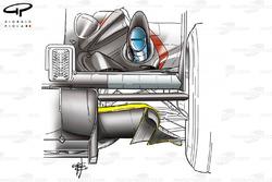 Minardi PS03 2003, diffusore