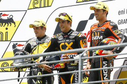 Podium: 1. Marc Marquez; 2. Mika Kallio; 3. Alex de Angelis