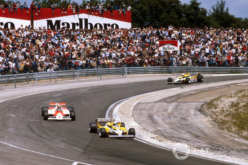 Renault 1981: Alain Prost, Renault RE30 (en primer término)