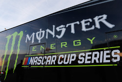 Monster Energy NASCAR Cup Series signage