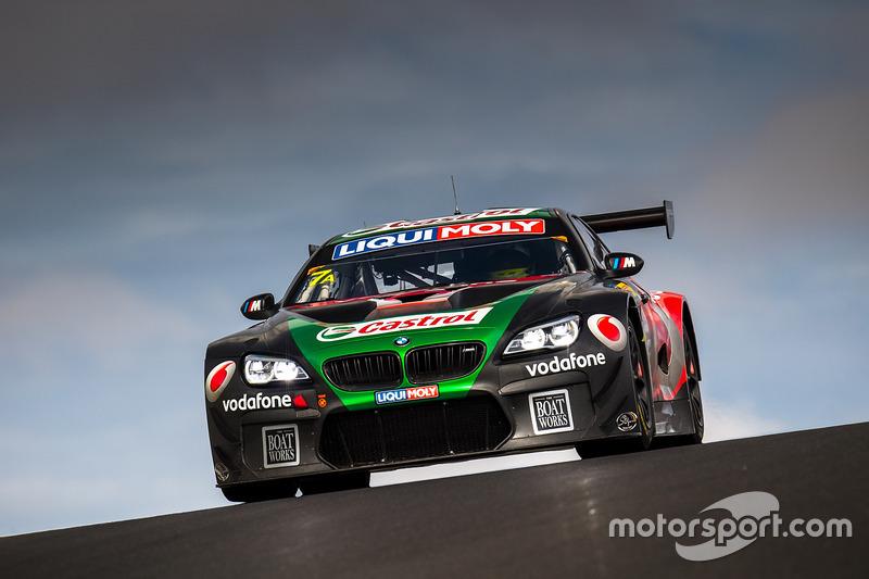 #7 BMW Team SRM, BMW M6 GT3: Tony Longhurst, Mark Skaife, Russell Ingall, Timo