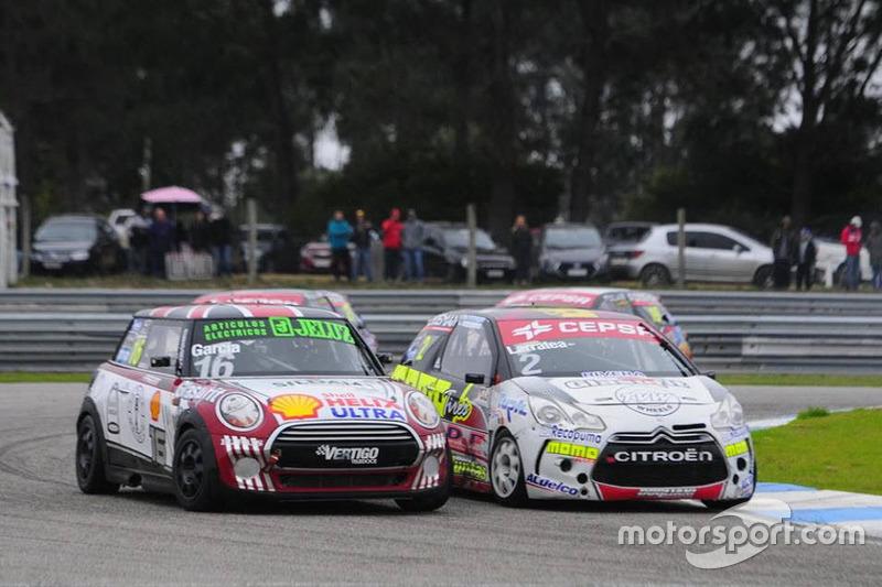 Horacio García, MINI Cooper y Fabricio Larratea, Citroën DS3