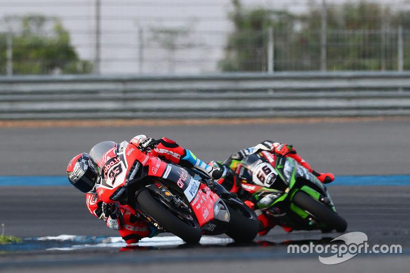 Marco Melandri, Ducati Team, Tom Sykes, Kawasaki Racing