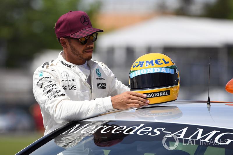 """8. PP獲得数で""""憧れのセナ""""と並んだハミルトン、F1に新たな歴史を刻む"""
