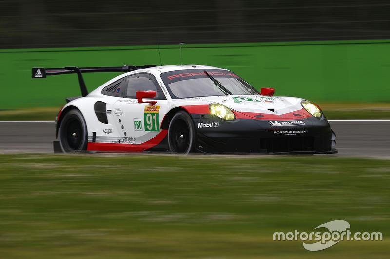 #91 Porsche Team, Porsche 911 RSR: Richard Lietz, Frédéric Makowiecki