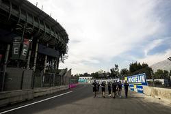Nicolas Prost, Renault e.Dams during track walk
