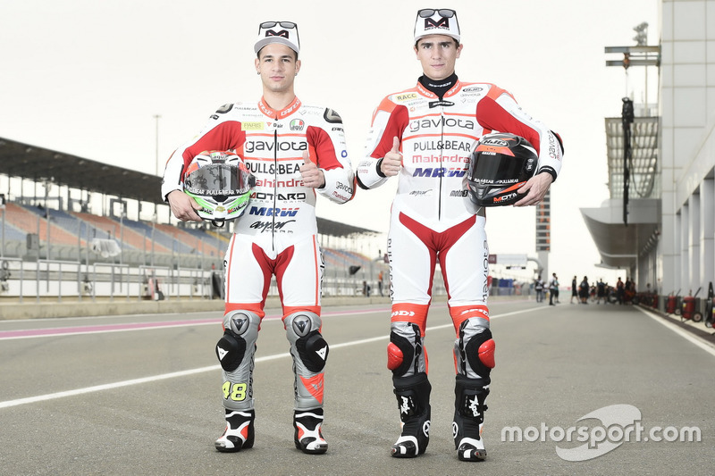 Lorenzo Dalla Porta, Aspar Team; Albert Arenas, Aspar Team