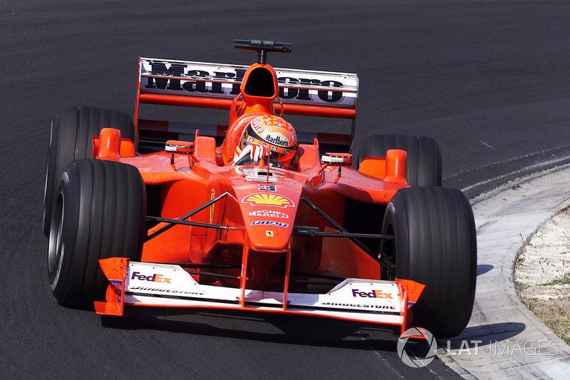 Michael Schumacher en el GP de Hungría