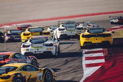 Ferrari Challenge start action