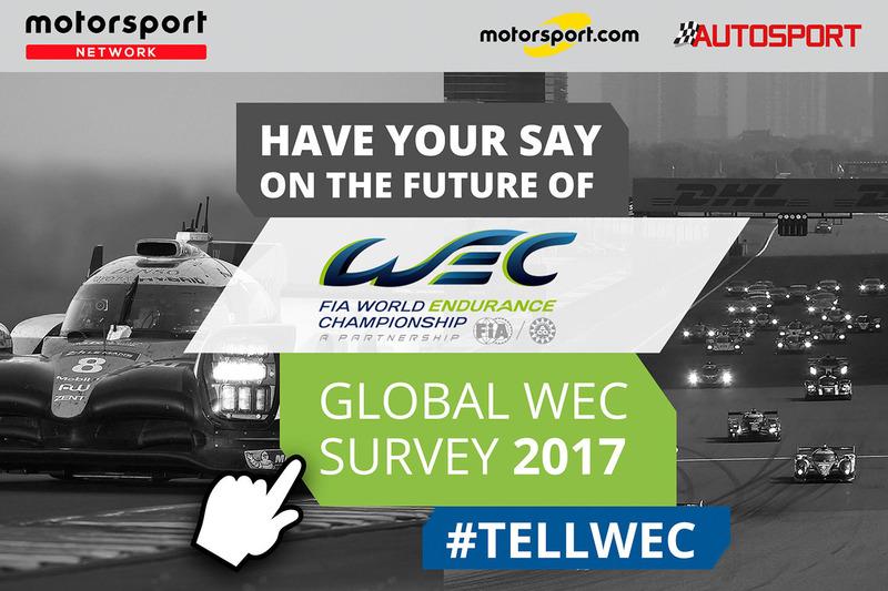 WEC-Umfrage von Motorsport.com