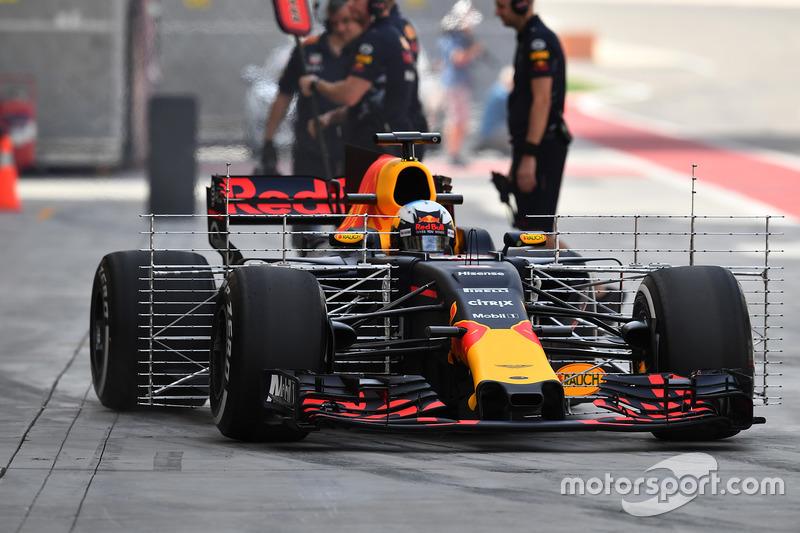 Daniel Ricciardo, Red Bull Racing RB13, mit Aero-Sensoren