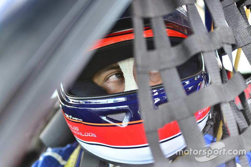 #7 MP3B Mazda 6 driven by Carlos Grimaldos of Scuderia Shell Burbank