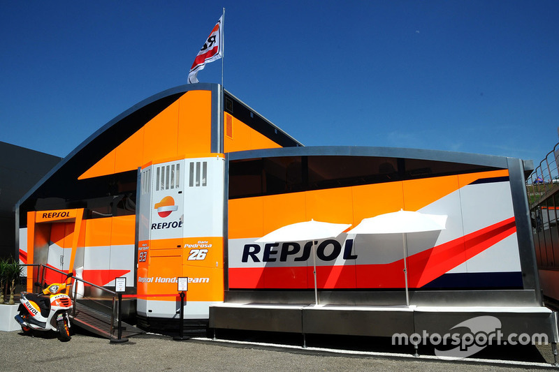 Repsol Honda Team, Motorhome
