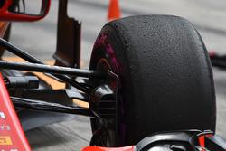 Ferrari SF71H front Pirelli tyre