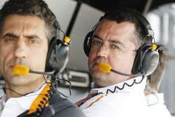 Eric Boullier, Director de carreras, McLaren