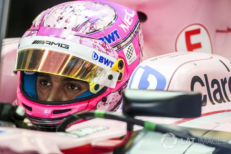 #31 Esteban Ocon, Sahara Force India