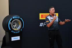 Mario Isola, Pirelli Sporting Director at the Pirelli 2018 launch