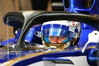Marcus Ericsson, Sauber C36 avec le Halo