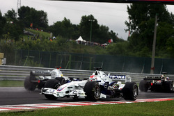 Robert Kubica, BMW Sauber F1.06 spin