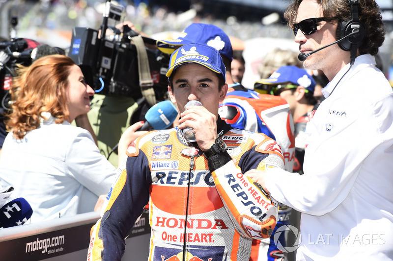 Il secondo qualificato Marc Marquez, Repsol Honda Team