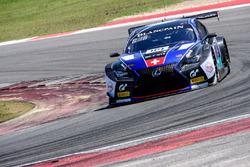 #114 Emil Frey Lexus Racing Lexus RC F GT3: Stéphane Ortelli, Norbert Siedler