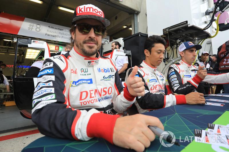 フェルナンド・アロンソ(F1出走 300回):#8 Toyota Gazoo Racing Toyota TS050