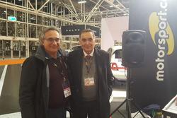 Franco Nugners, direttore responsabile di Motorsport.com Italia e l'ingegner Giampaolo Dallara