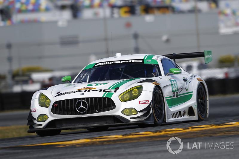 41.- #33 Riley Motorsports Mercedes AMG GT3, GTD: Jeroen Bleekemolen, Ben Keating, Adam Christodoulou, Luca Stolz