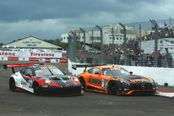 #96 Pfaff Motorsports Porsche 911 GT3 R: Scott Hargrove #2 CRP Racing Mercedes-AMG GT3: Daniel Morad