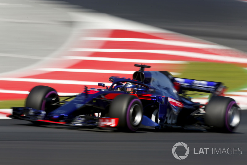 13º Brendon Hartley, Scuderia Toro Rosso STR13: 1:18.949 (Hiperblandos)