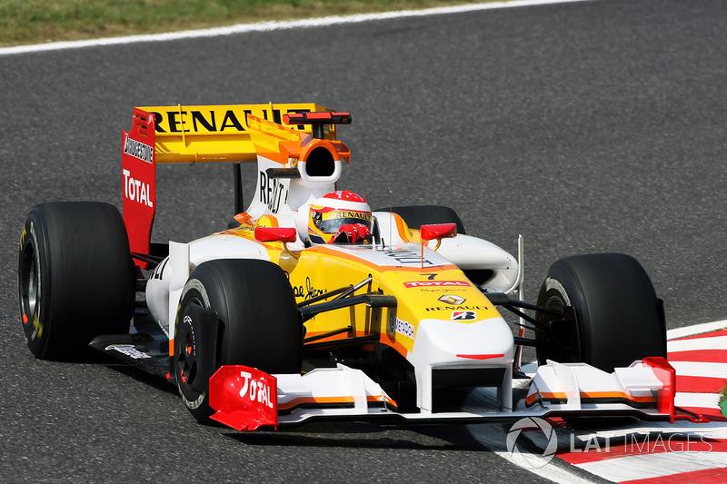 2009: Renault R29 (один подиум, 8-е место в КК)