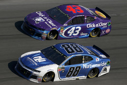 Alex Bowman, Hendrick Motorsports Chevrolet Camaro Darrell Wallace Jr., Richard Petty Motorsports, C
