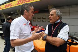 Andrew Denford, F1 in Schools and Giorgio Piola, Technical Journalist