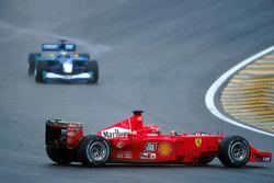 Разворот: Михаэль Шумахер, Ferrari F1 2001